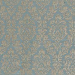 Серебристо-голубая ткань для штор