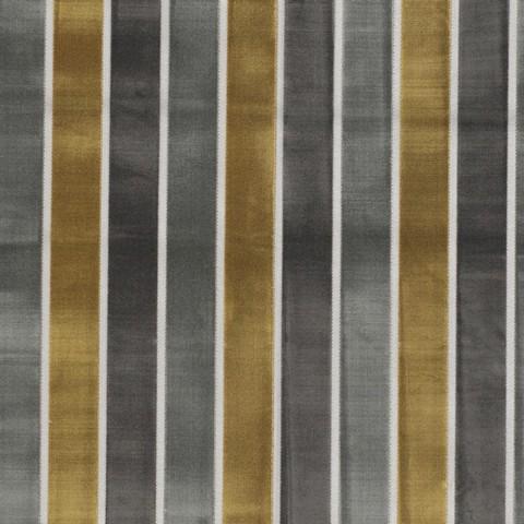 Ткань в полоску золотисто-серую